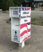 What is a ballot dropbox, and does Chatham County have one?